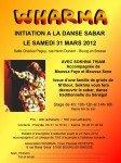 Stage d'initiation à la danse Sabar le 31/03/2012 à Bourg dans Stages sabar-112x150