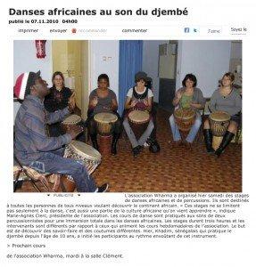 2010_11_07 Danses africaines au son du..