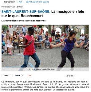 2015_06_22 Saint-Laurent-sur-Saône _ La musique en fête sur le quai Bouchacourt