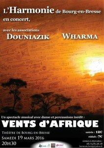 affiche Vents d'Afrique 2016
